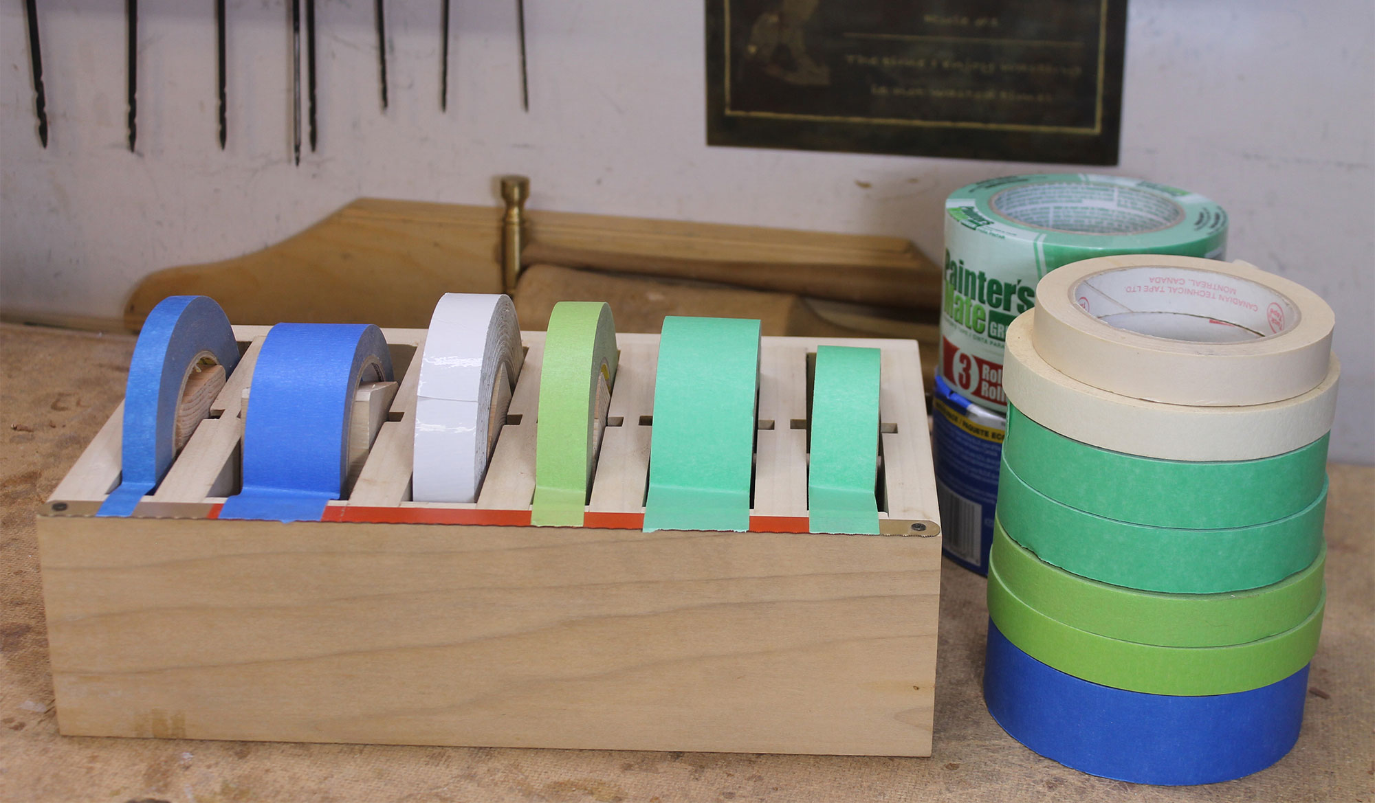 10 Ways Masking Tape Can Help a Woodworker