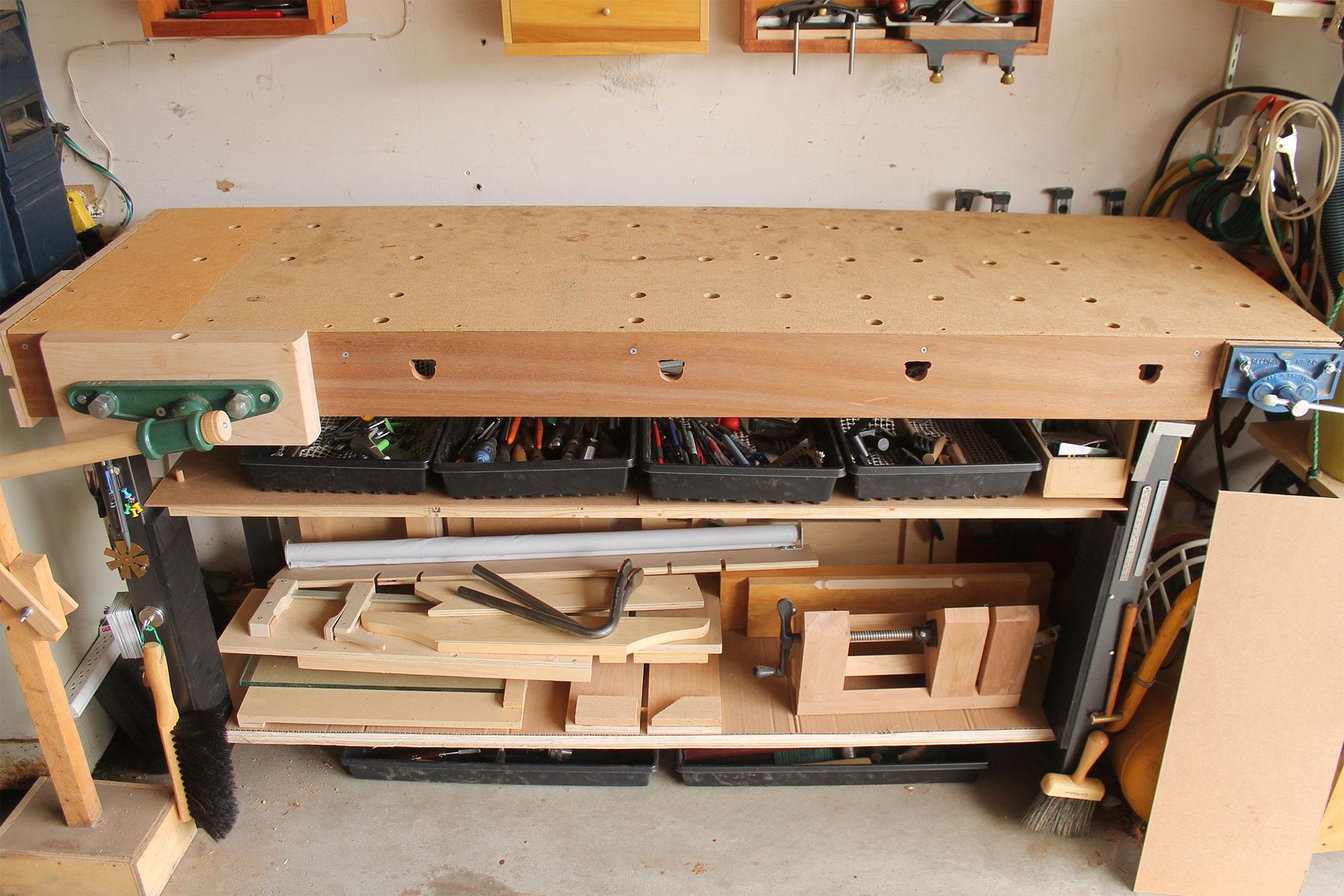 Custom-Built Hybrid Workbench