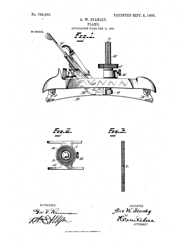 Circular Plane Patent Diagram