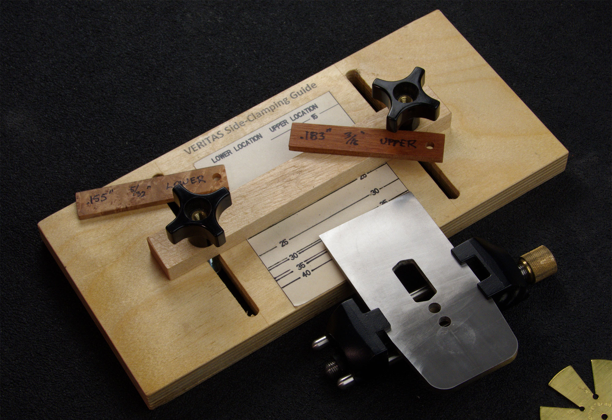 Fence-style jig top