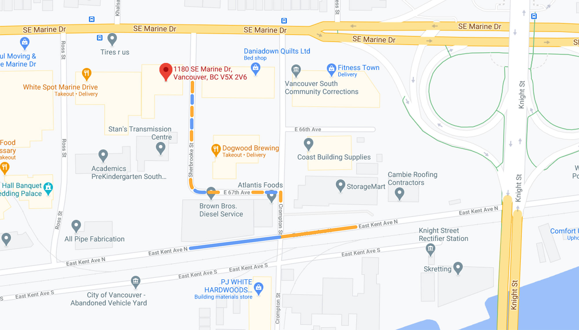 Vancouver Store Location
