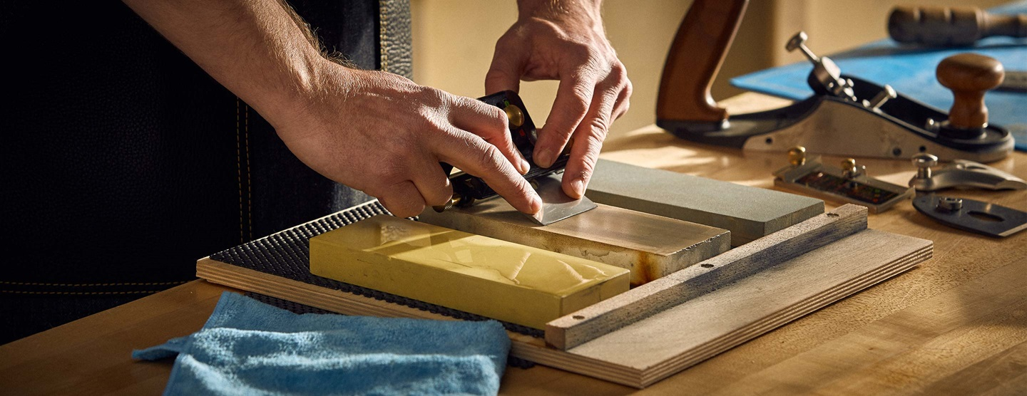 Sharpening by Hand
